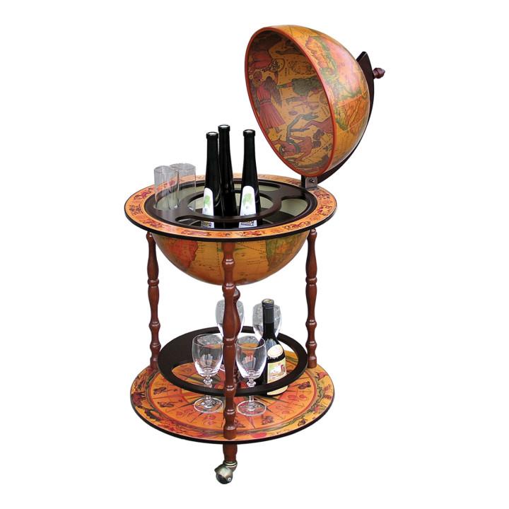 Tempo Kondela Barový stolek GLOBUS 2 - 324