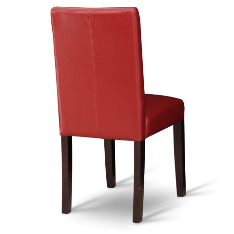 Jídelní židle VIVA - červená