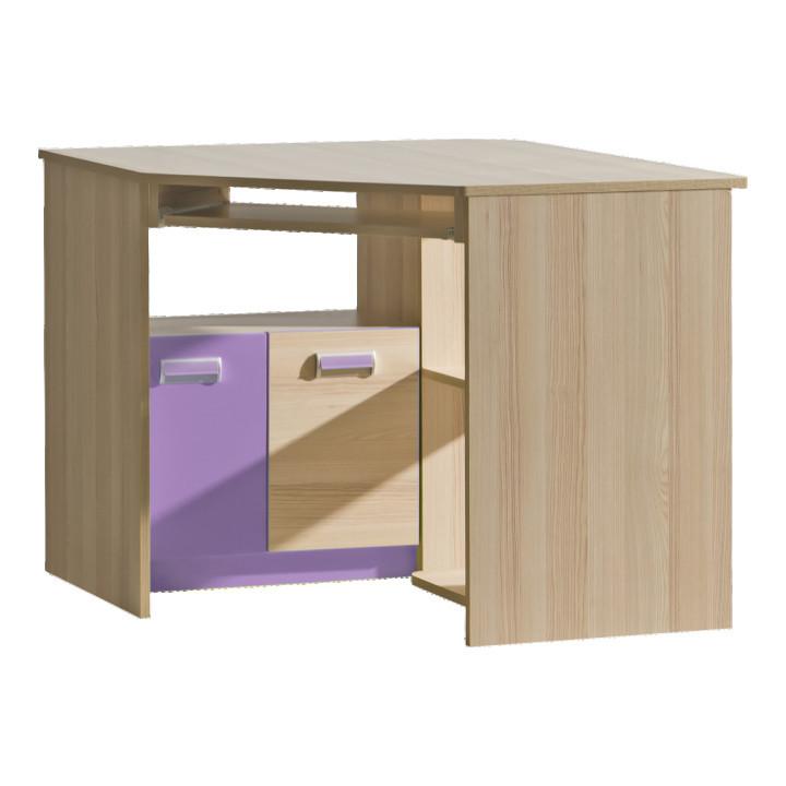 PC stůl EGO L11 - fialová