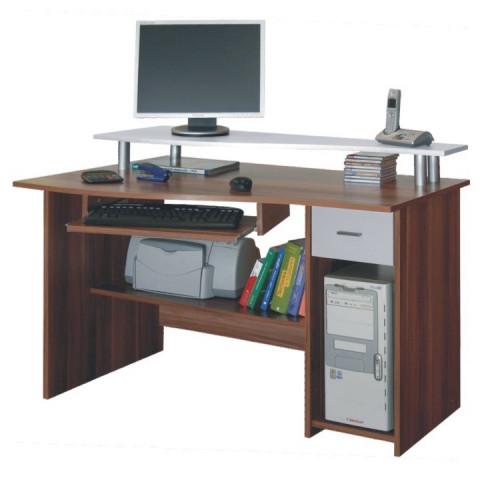 PC stůl PLUTO - švestka