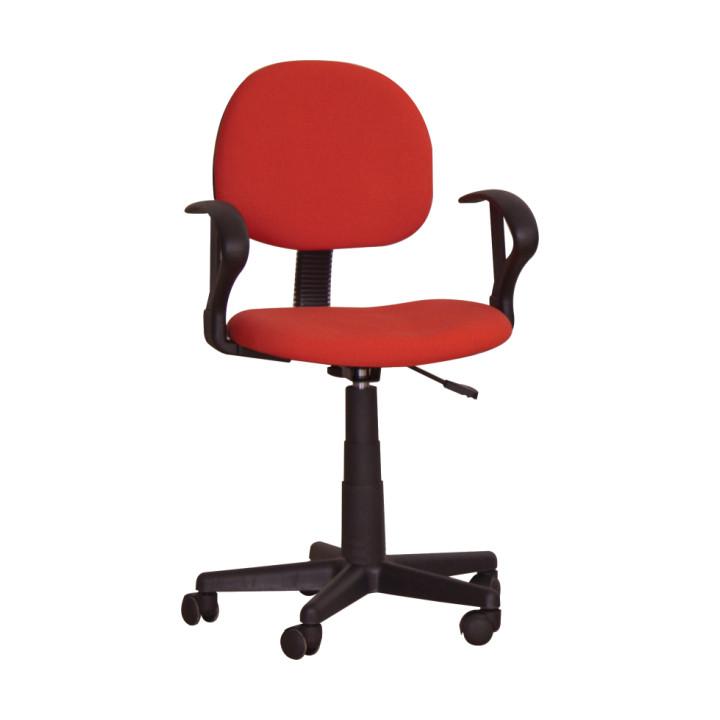 Tempo Kondela Kancelářská židle TC3-227 - červená + kupón KONDELA10 na okamžitou slevu 10% (kupón uplatníte v košíku)