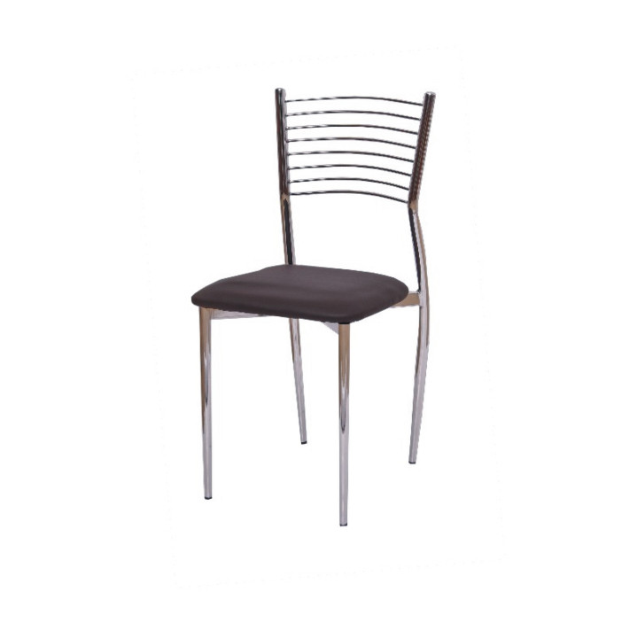 Tempo Kondela Jídelní židle ZAIRA - tmavě hnědá