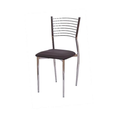 Jídelní židle ZAIRA - tmavě hnědá