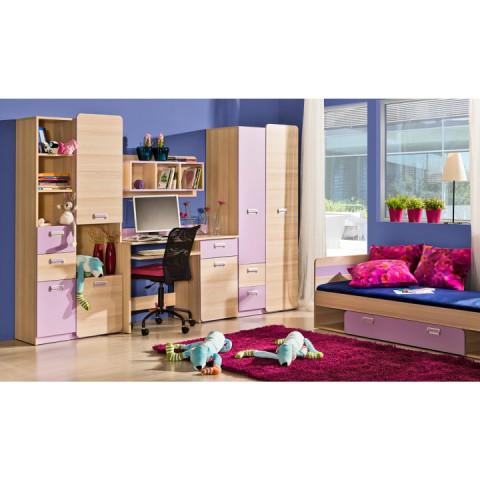 Skříňka EGO L5 - fialová