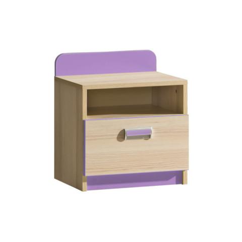 Noční stolek EGO L12 - fialová