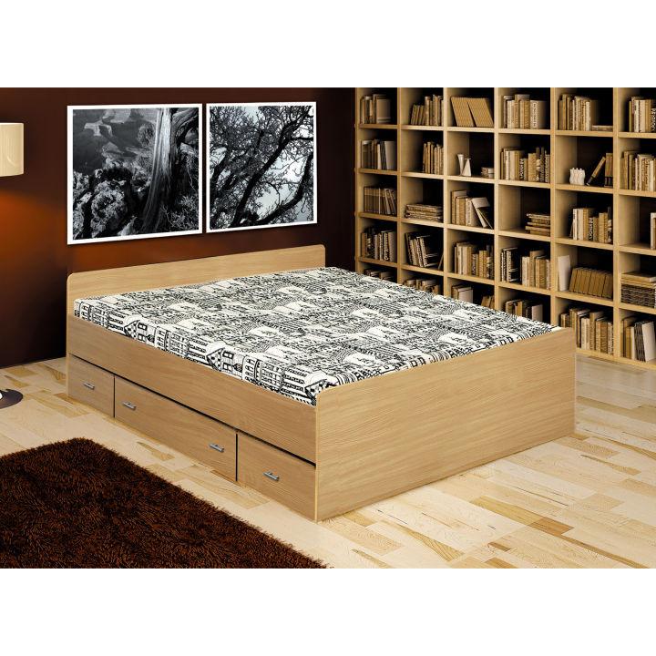 Tempo Kondela Postel DUET - 140x200 cm + kupón KONDELA10 na okamžitou slevu 3% (kupón uplatníte v košíku)