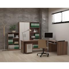 Kancelářská skříň JOHAN 05 - švestka