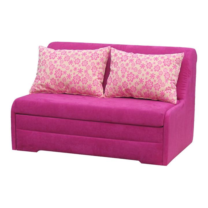 Tempo Kondela Rozkládací pohovka MARKUS - růžová + kupón KONDELA10 na okamžitou slevu 10% (kupón uplatníte v košíku)