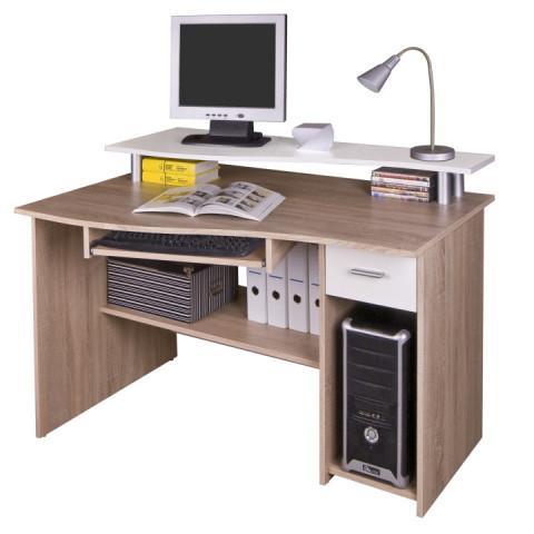PC stůl PLUTO - dub sonoma