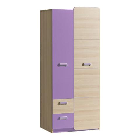 Skříň EGO L1 - fialová