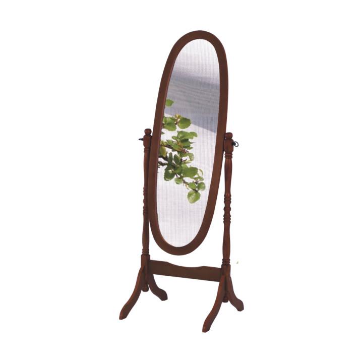 Tempo Kondela Zrcadlo 20124 - ořech + kupón KONDELA10 na okamžitou slevu 10% (kupón uplatníte v košíku)