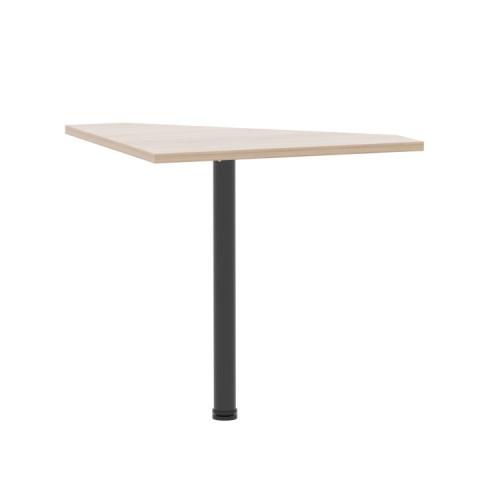 Rohový PC stůl JOHAN 06 - dub sonoma
