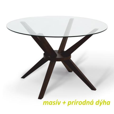 Jídelní stůl GLAS - wenge