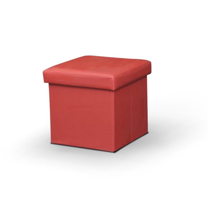 Taburet TELA - červený
