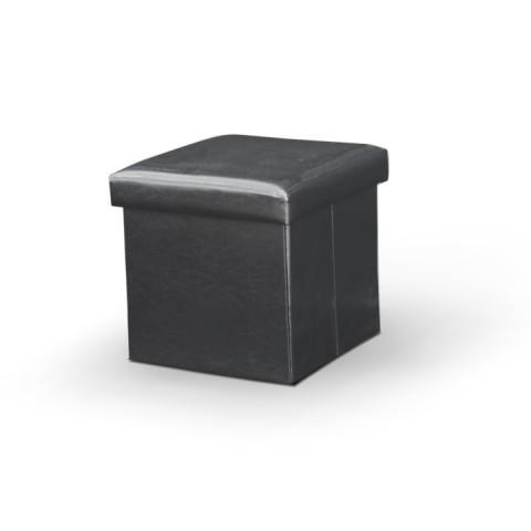 Taburet TELA - černý