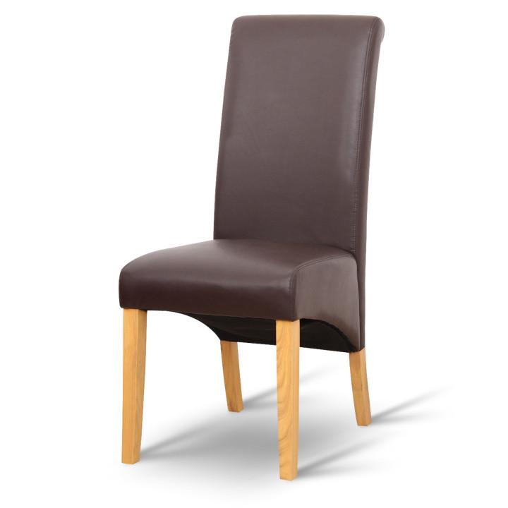 Tempo Kondela Jídelní židle JUDY - hnědá