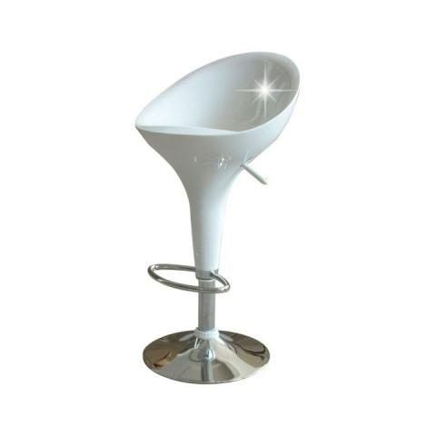 Barová židle ALBA NEW - bílá