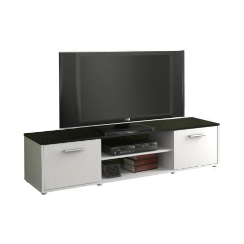 Televizní stolek ZUNO 01 - černá/bílá