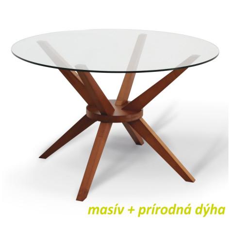 Jídelní stůl GLAS - třešeň