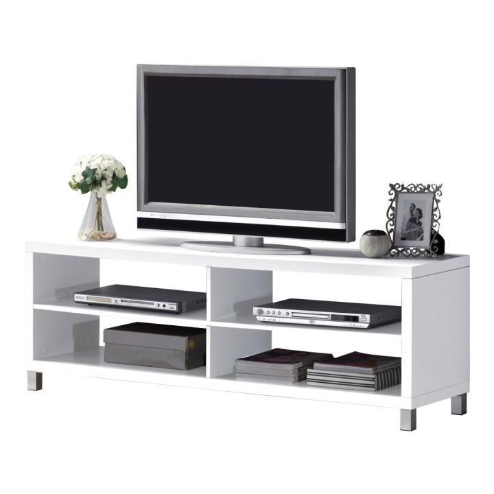 Tempo Kondela Televizní stolek TOFI NEW - bílý + kupón KONDELA10 na okamžitou slevu 3% (kupón uplatníte v košíku)