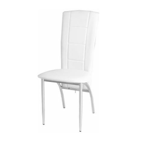 Jídelní židle FINA - bílá