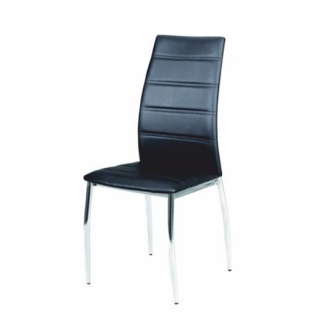 Jídelní židle DELA - černá