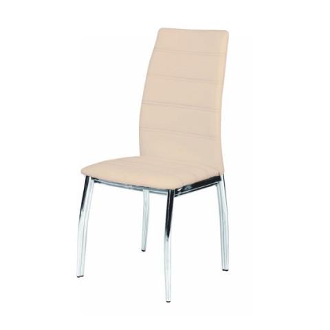 Jídelní židle DELA - krémová
