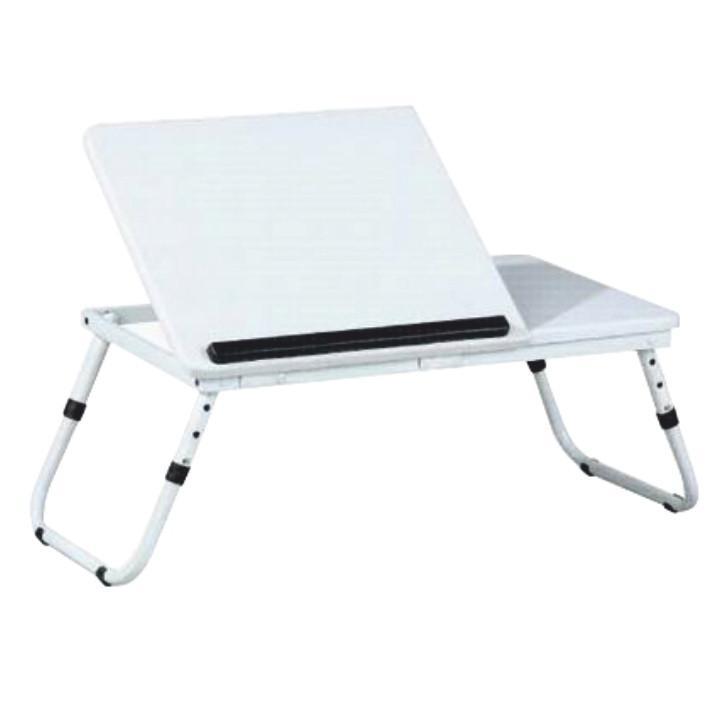 Tempo Kondela Stolek na notebook EVALD, bílý + kupón KONDELA10 na okamžitou slevu 3% (kupón uplatníte v košíku)