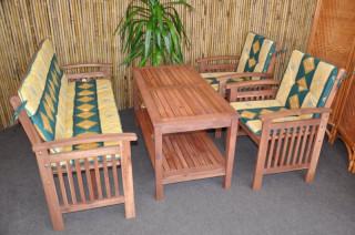 Zahradní set s lavicí