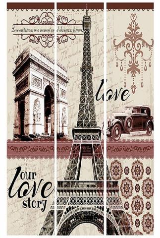 Paravan Eiffelovka HA706593