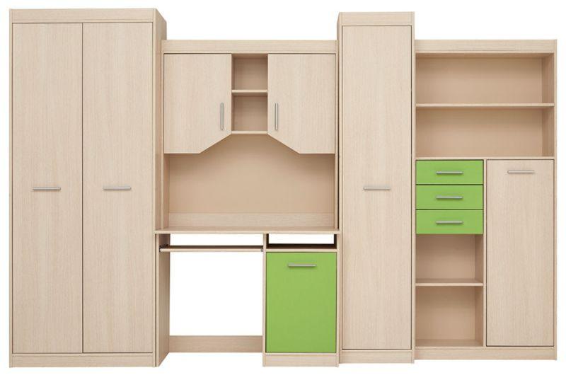 Dětský pokoj Zipp - zelený