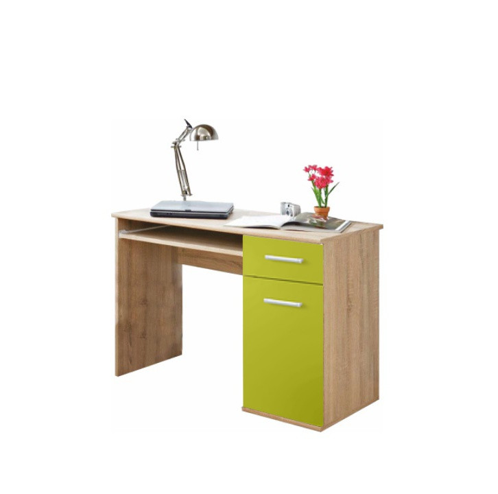 Tempo Kondela PC stůl EMIO Typ 06 - zelený + kupón KONDELA10 na okamžitou slevu 3% (kupón uplatníte v košíku)