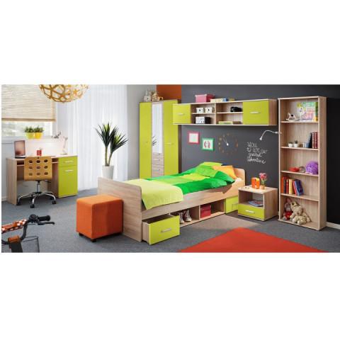 PC stůl EMIO Typ 06 - zelený