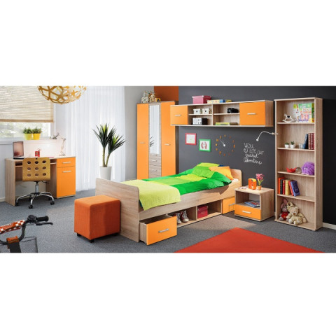 Skříň EMIO Typ 02 - oranžová