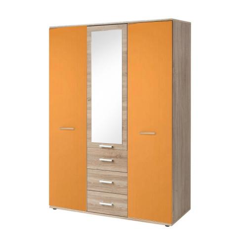 Skříň EMIO Typ 03 - oranžová