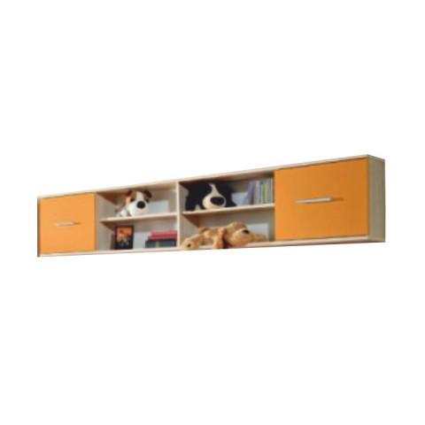 Skříňka EMIO Typ 07 - oranžová