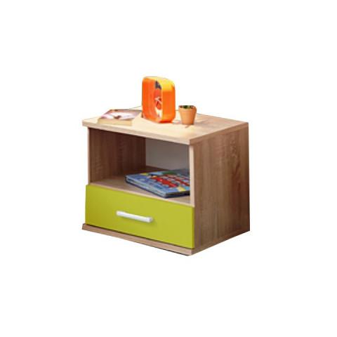 Noční stolek EMIO Typ 05 - zelený
