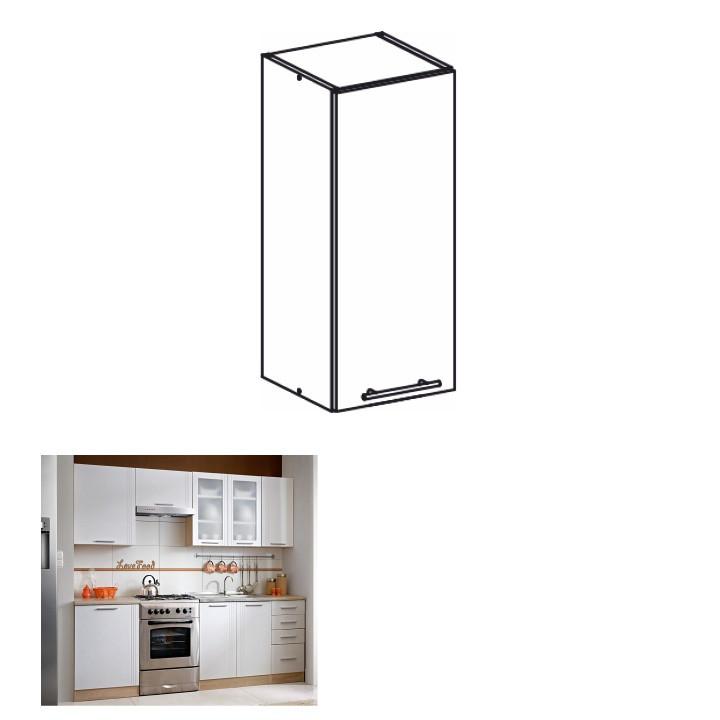 Tempo Kondela Kuchyňská skříňka MONDA W30 + kupón KONDELA10 na okamžitou slevu 10% (kupón uplatníte v košíku)