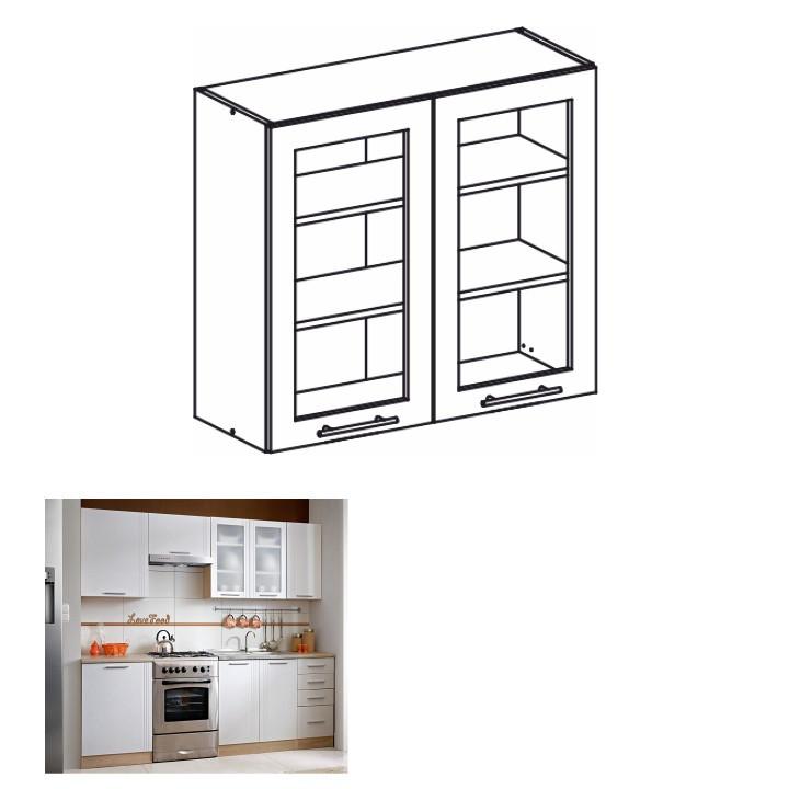 Tempo Kondela Kuchyňská skříňka MONDA W80S + kupón KONDELA10 na okamžitou slevu 10% (kupón uplatníte v košíku)