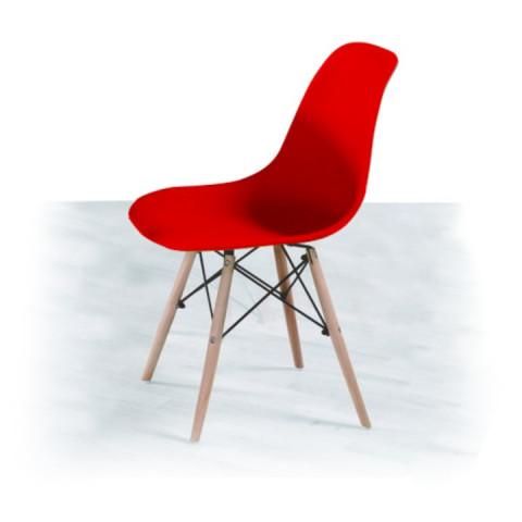 Jídelní židle PC-015 CINKLA - červená