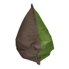 Sedací vak PILOV 145 - hnědý/zelený