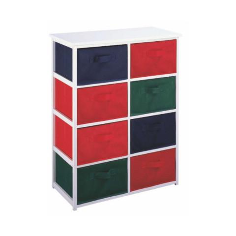 Regál s úložnými boxy COLOR 95