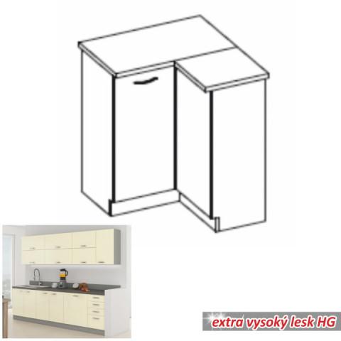 Kuchyňská skříňka PRADO 90/90 DN ZB - krémová
