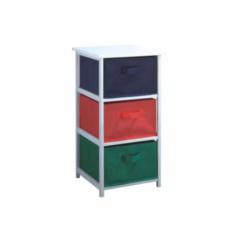 Regál s úložnými boxy COLOR 94