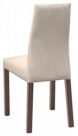 Jídelní židle Raflo AKRM - Dřevo dub wenge bronzový/látka 1076