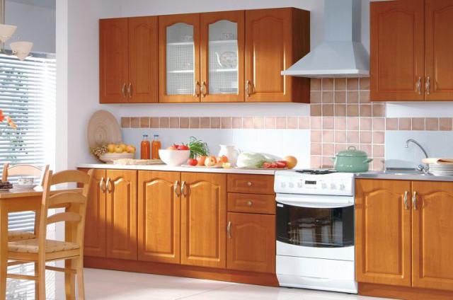 Kuchyňská linka Nika 260 Classic - olše medová