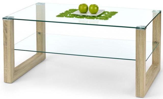 Konferenční stolek Kelly - Dub sonoma