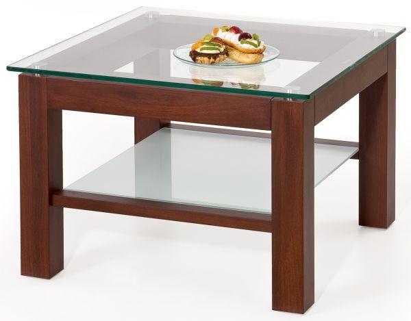 Konferenční stolek Livia kwadrat - Antická třešeň