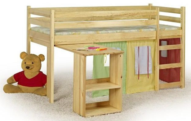 Patrová postel Emi borovice