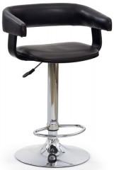 Barová židle H-12 - wenge/tmavě hnědá